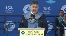 Rektör Prof. Dr. Mehmed Özkan | Boğaziçi Üniversitesi 152. Mezuniyet Töreni
