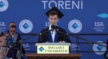 Öğrenci Konuşması Safa Can Medin | Boğaziçi Üniversitesi 152. Mezuniyet Töreni