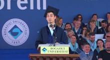 Boğaziçi Üniversitesi 151. Mezuniyet Töreni | Öğrenci Konuşması