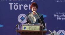 Rektör Prof. Dr. Gülay Barbarosoğlu | Boğaziçi Üniversitesi 146. Mezuniyet Töreni